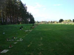 cmentarz łąka poznań